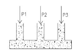 Tipos de fundações: Radier
