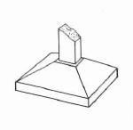 Tipos de fundações: Sapata