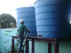 Dimensionamento de caixa de água