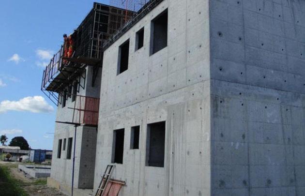 Sistema construtivo em parede de concreto