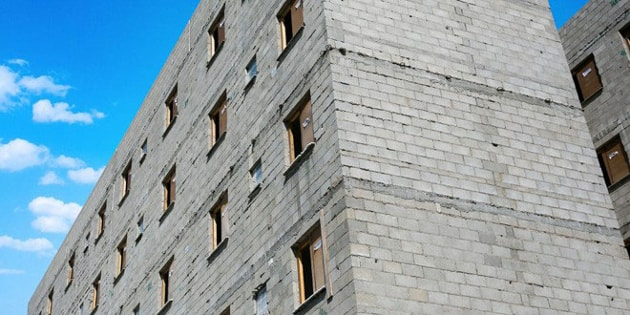 Prédio em alvenaria estrutural