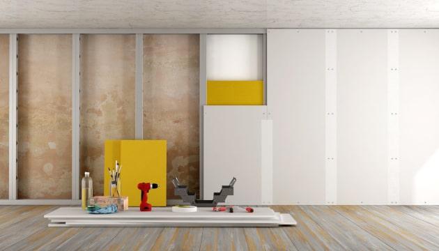 drywall o que vantagens e desvantagens escola engenharia. Black Bedroom Furniture Sets. Home Design Ideas