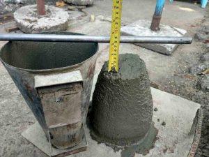 O que é Slump do concreto e como fazer o teste?